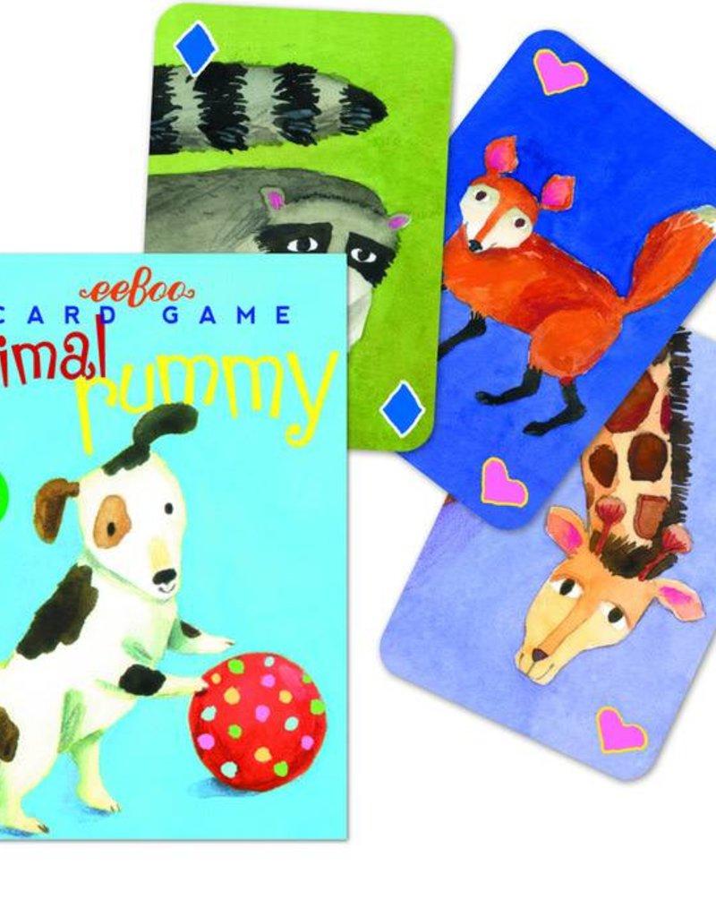 eeBoo Animal Rummy Playing Cards