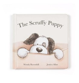 JellyCat JellyCat - The Scruffy Puppy book
