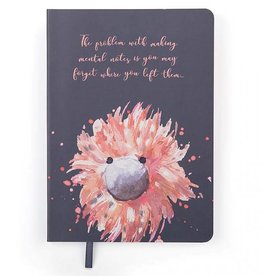 JellyCat Jellycat - Glad To Be Me Navy Notebook Journal