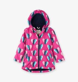 Hatley Hatley Microfiber Rain Coat - Hearts