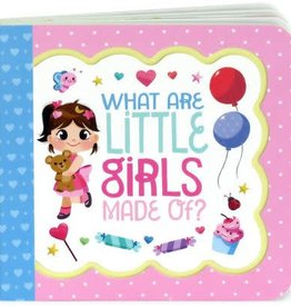 What Are Little Girls Made Of? - Greeting Card Book
