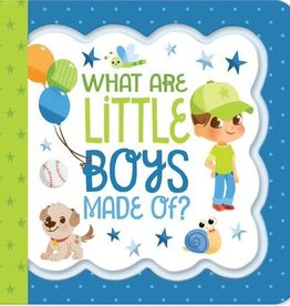 What Are Little Boys Made Of? - Greeting Card Book