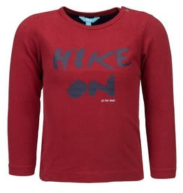 "Lief Lief - Red ""Hike On"" LS Tee"