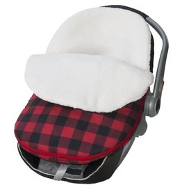 Jolly Jumper Cuddle Bag - Red & Black Check Print