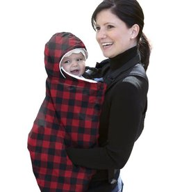 Jolly Jumper Snuggle Cover - Red/Black Check