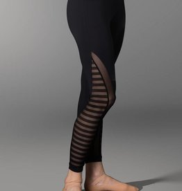 So Danca So Danca Sarah Merns Collection Mesh Striped Leggings - RDE1782