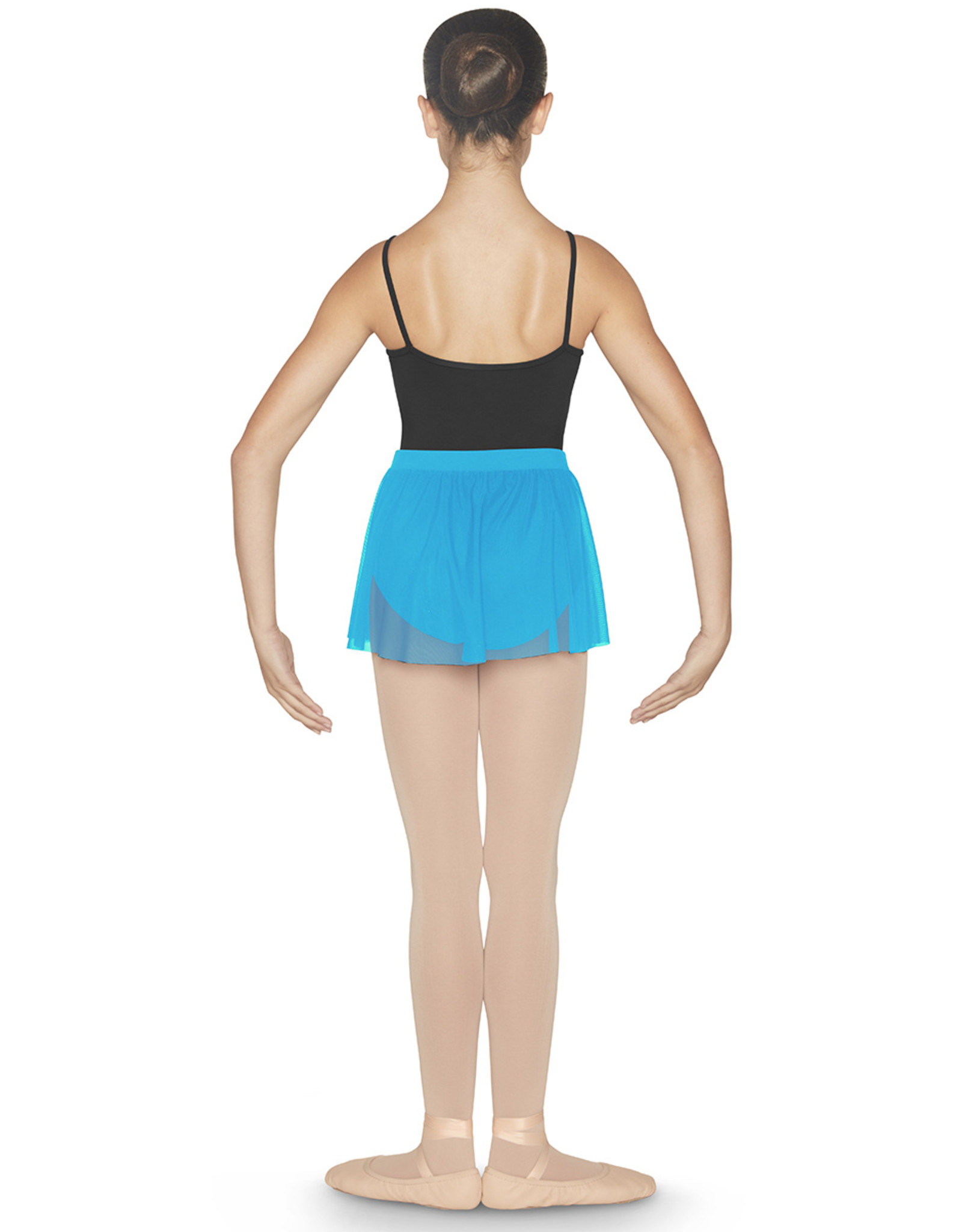 Bloch Bloch Placement Flock Wrap Skirt - CR9931
