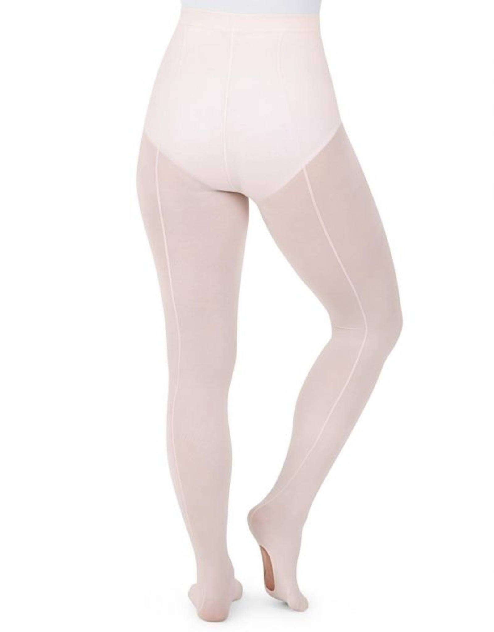 Capezio Capezio Childrens Ultra Soft Transition Tights w Back Seam - 1918C