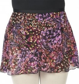 "Dasha Designs Dasha Ladies Print 12"" Wrap Skirt - 4493"