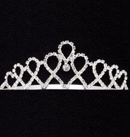 Dasha Designs Dasha Looped Hearts Tiara - 2807