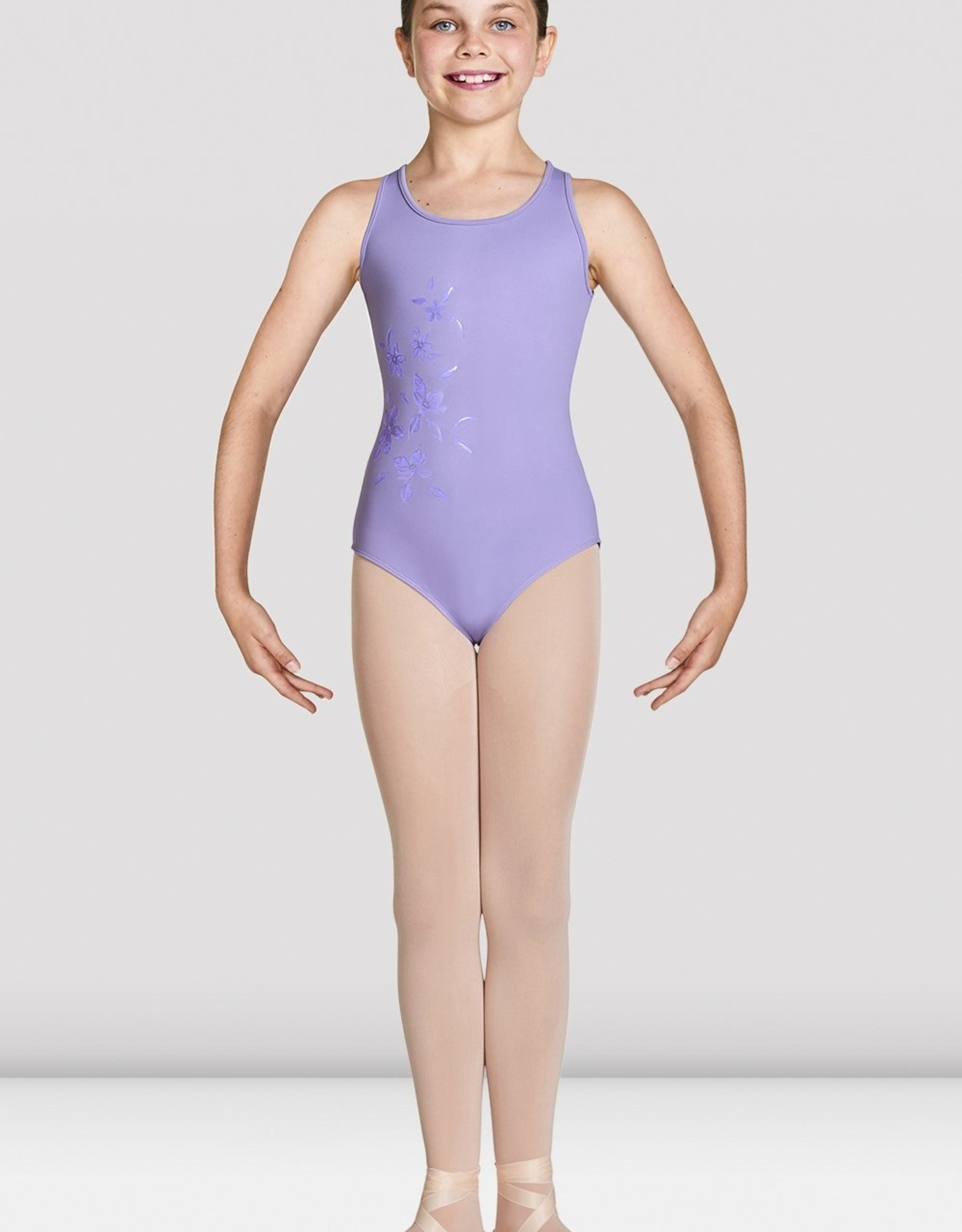 Bloch Bloch Girls Mesh Wrap Back Tank Leotard - CL4920