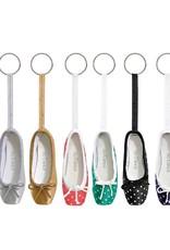 So Danca Mini Pointe Shoe Key Ring - KC12/A Pattern Assortment