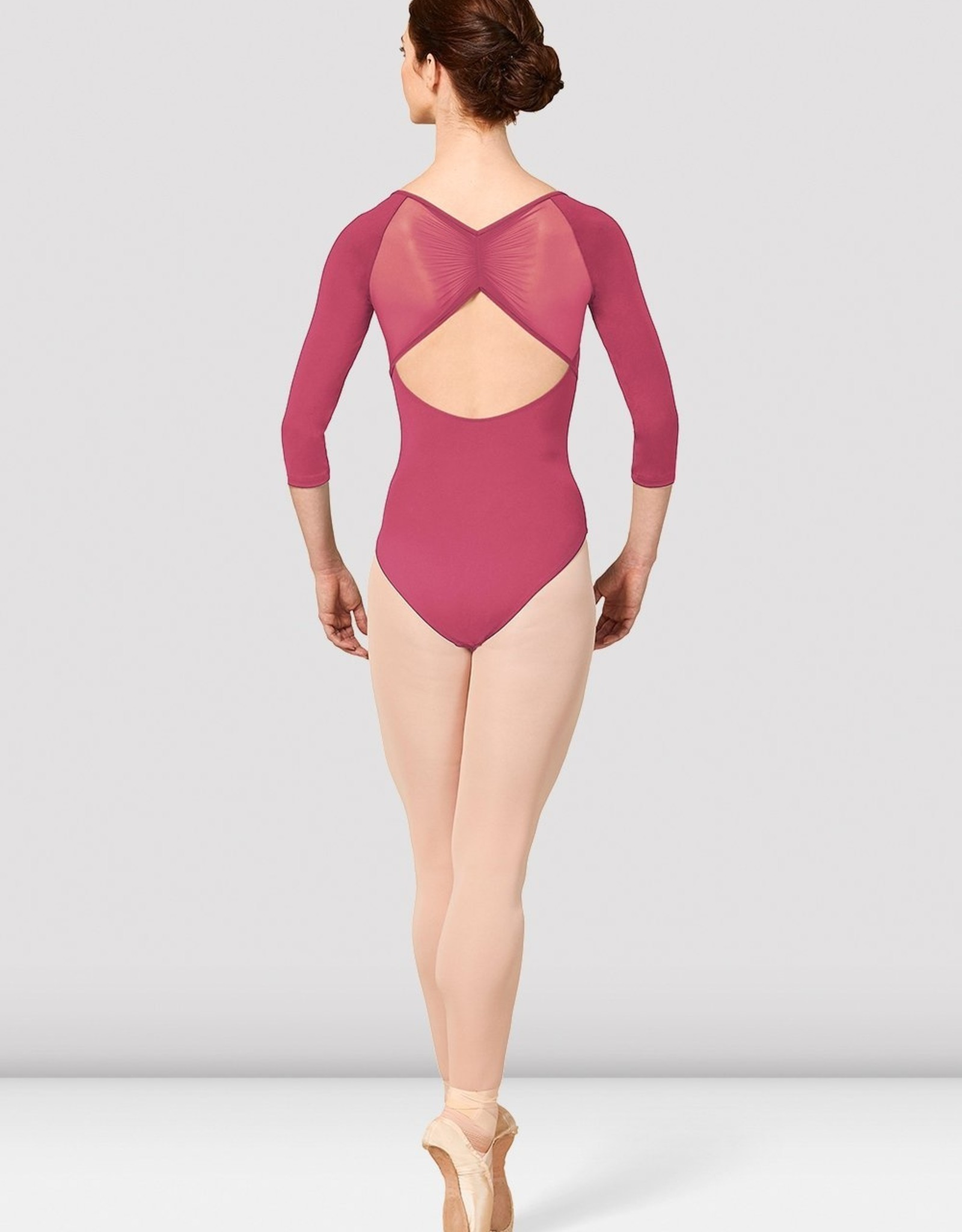 Bloch Bloch Gather Mesh Leotard M1016LM