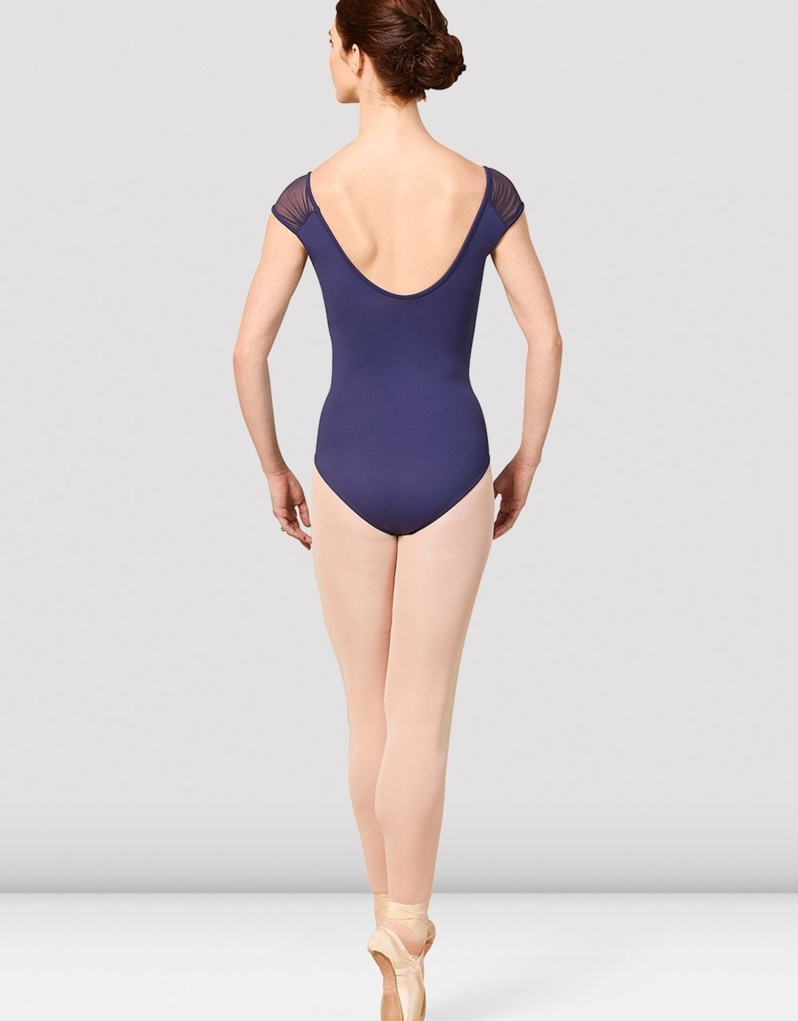 Bloch Bloch Gather Mesh Cap Sleeve Leotard - M5090LM