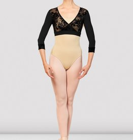 Bloch Bloch Wrap Front 3/4 Sleeve Top - Z7836