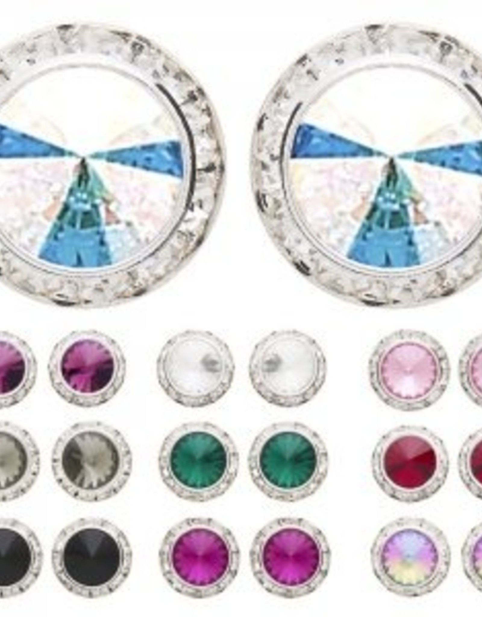 Dasha Designs Dasha Swarovski Performance Earrings - 2712 PCr