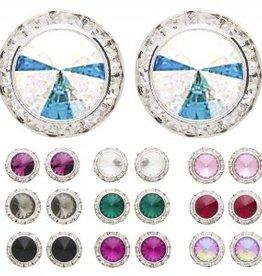 Dasha Designs Dasha Swarovski Performance Earrings - 2712 PCr
