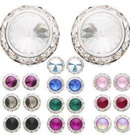 Dasha Designs Dasha Swarovski Performance Earrings - 2710 PCr