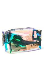 So Danca So Danca Holographic Glossy Clear Mini Accessory Bag -  BP02