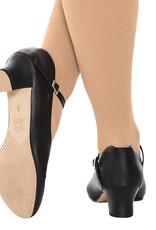 "Eurotard Dancewear Eurotard Adult Pivot Leather 1.5"" Character Shoe - A2213a"