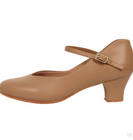 "Eurotard Dancewear Eurotard Adult Pivot Leather 1.5"" Character Shoe - A2213a"