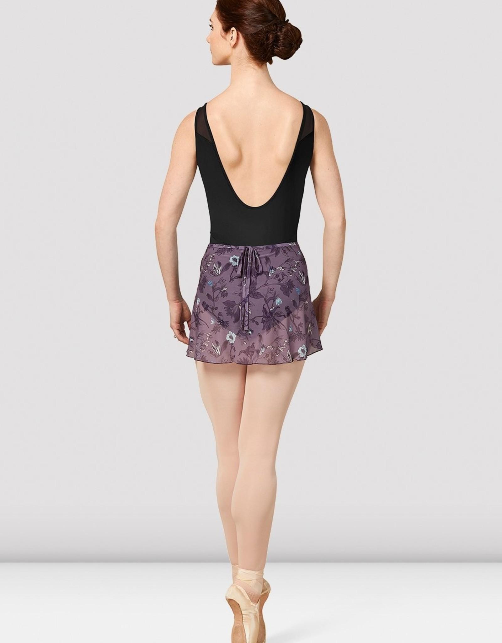 Bloch Bloch Printed Mesh Wrap Skirt - MS157