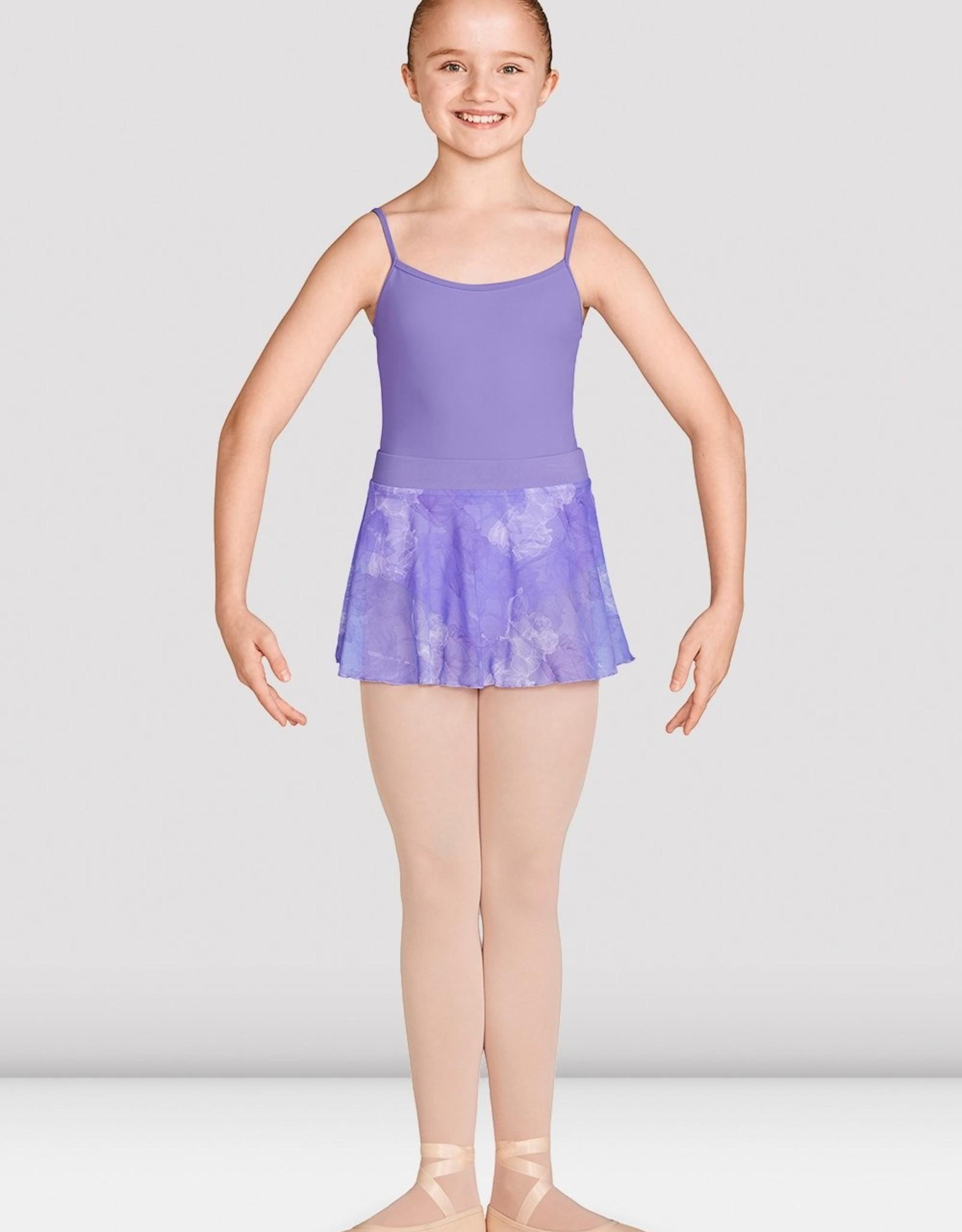 Mirella Mirella Printed Mesh Skirt With Band - MS141C