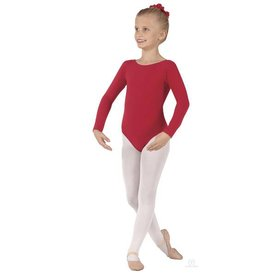 Eurotard Long Sleeve Leotard - Child 10408