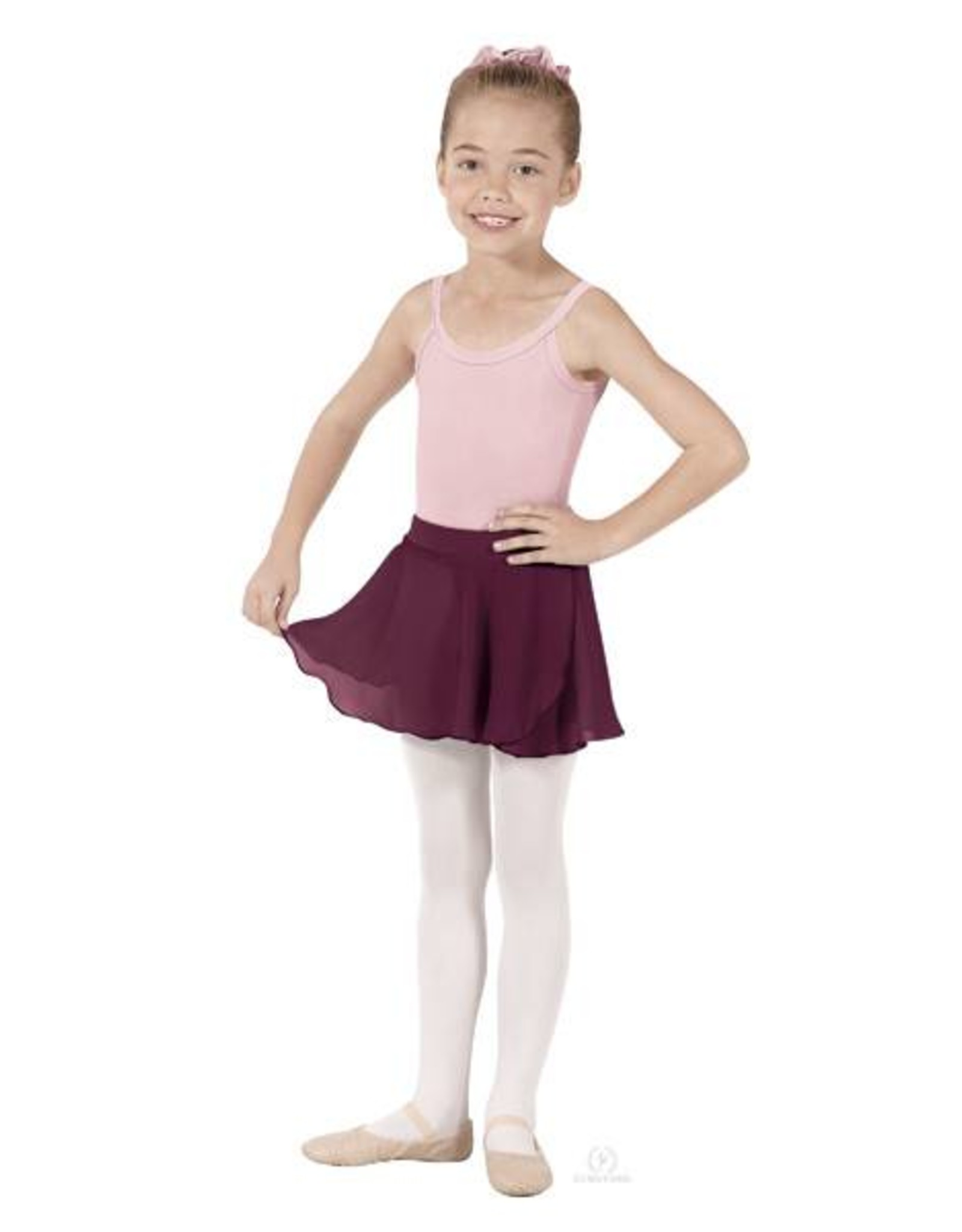 Child Mock Wrap Skirt 10127