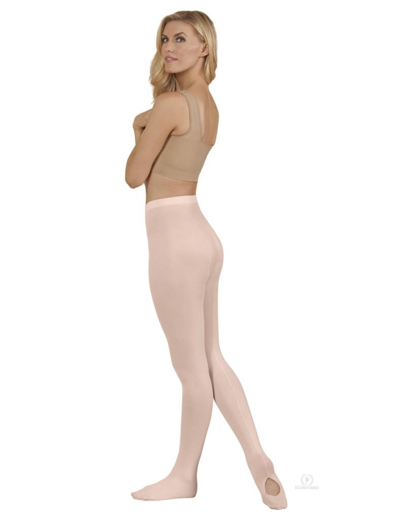 Eurotard Dancewear Euroskins Adult Professional Mesh Backseam Tights 219