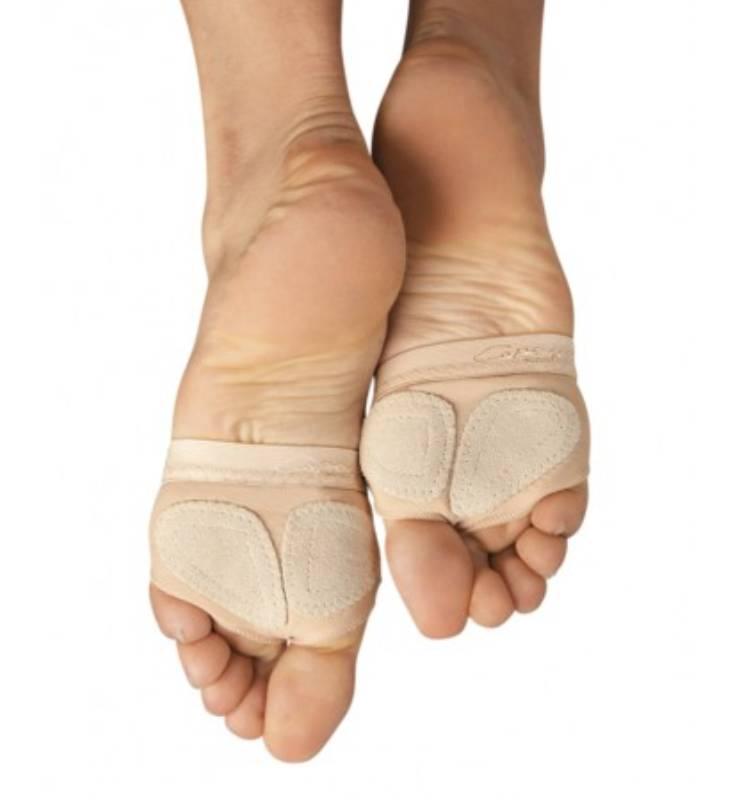 H07 Capezio Adult Basic FootUndeez | Rosy Cheeks