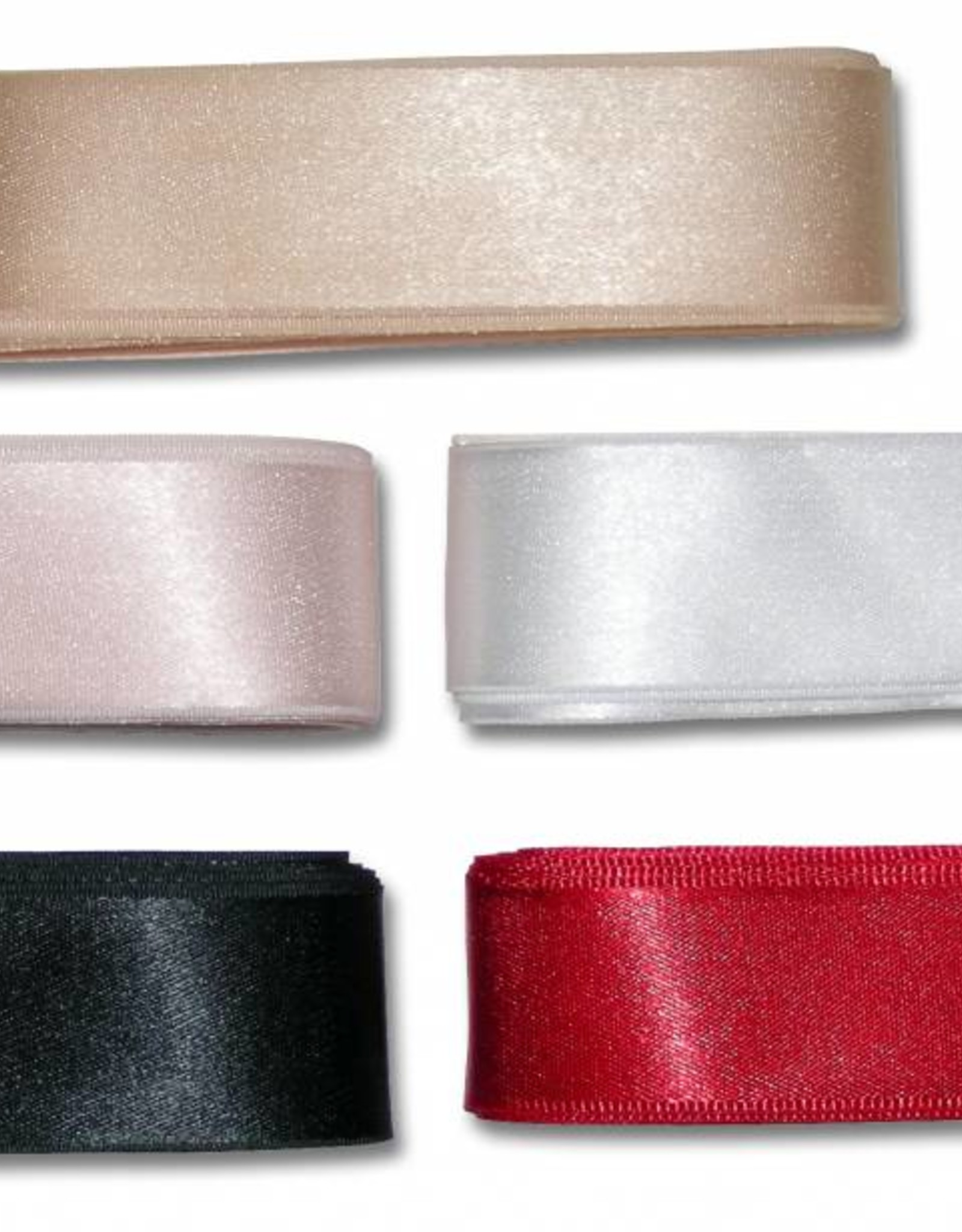 Pillows for Pointes Pillows for Pointes Double Sided Satin Ribbon