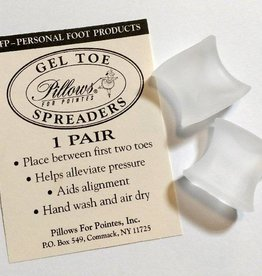 Pillows for Pointes Pillows for Pointes Gel Toe Spreaders