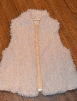 Sherpa Fur Lined Vest (2 Colors)