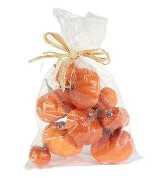 Mixed Bag of Orange Pumpkins