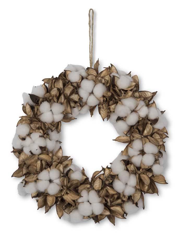 Cotton Pod Wreath