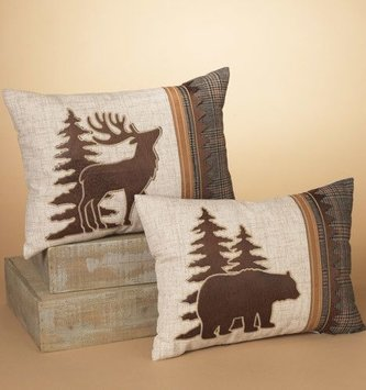 Woodland Lodge Pillow (2 Styles)
