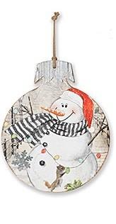 Snowman Ornament Wall Art (4 Styles)