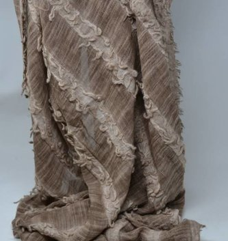 Long Tattered Scarf (3 Colors)