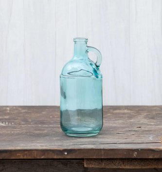 Handled Glass Jug (2 Colors)