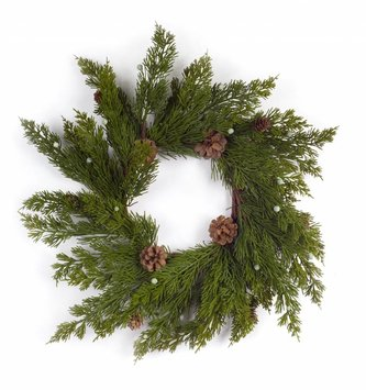 Bountiful Pine Candle Ring (2 Sizes)