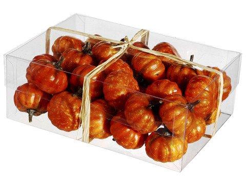 Assorted Speckled Orange Box of Pumpkins