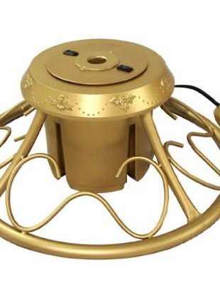 Gold Rotating Tree Stand