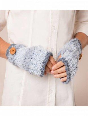 Knubby Stripe Wrist Warmer (6 Colors)