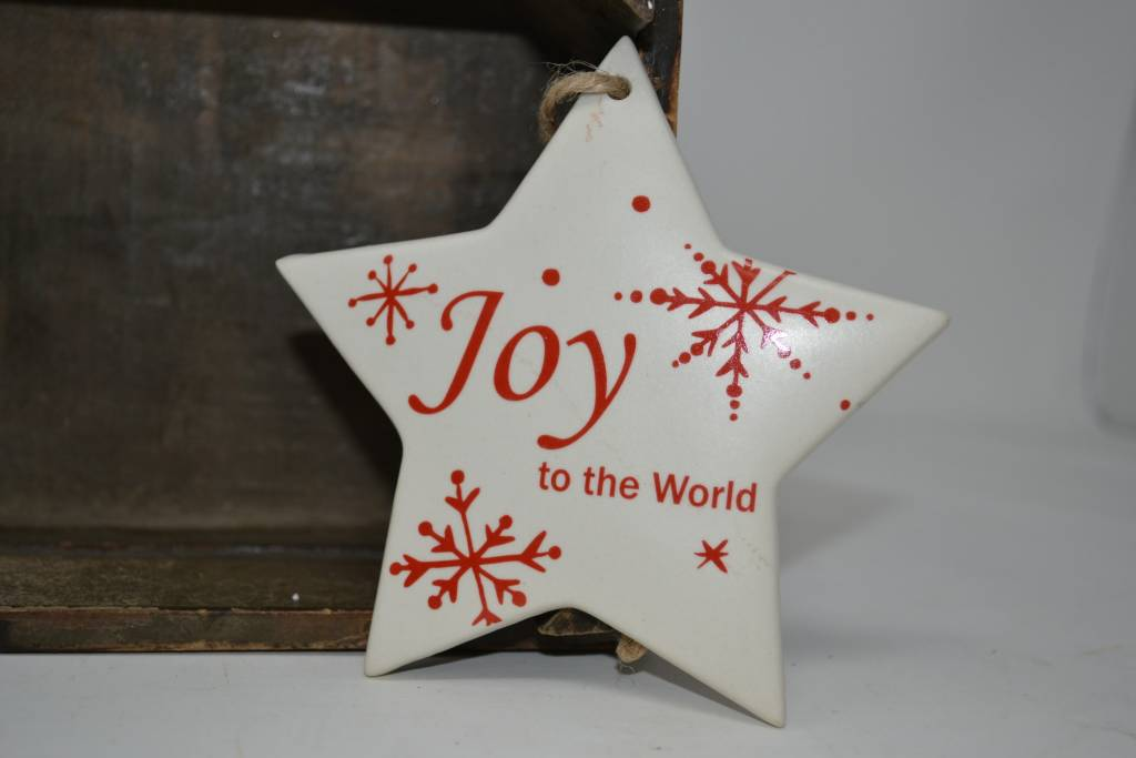 Ceramic Star Ornament