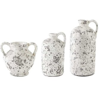 Antique Crackle Container (3 Sizes)