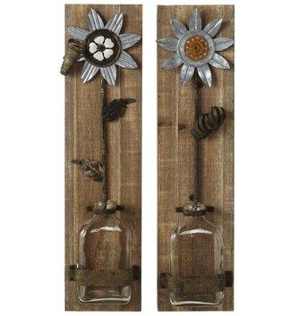 Wildflower Wall Vase (2 Styles)