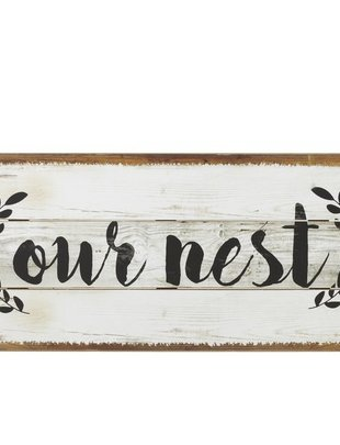 Our Nest Wall Decor