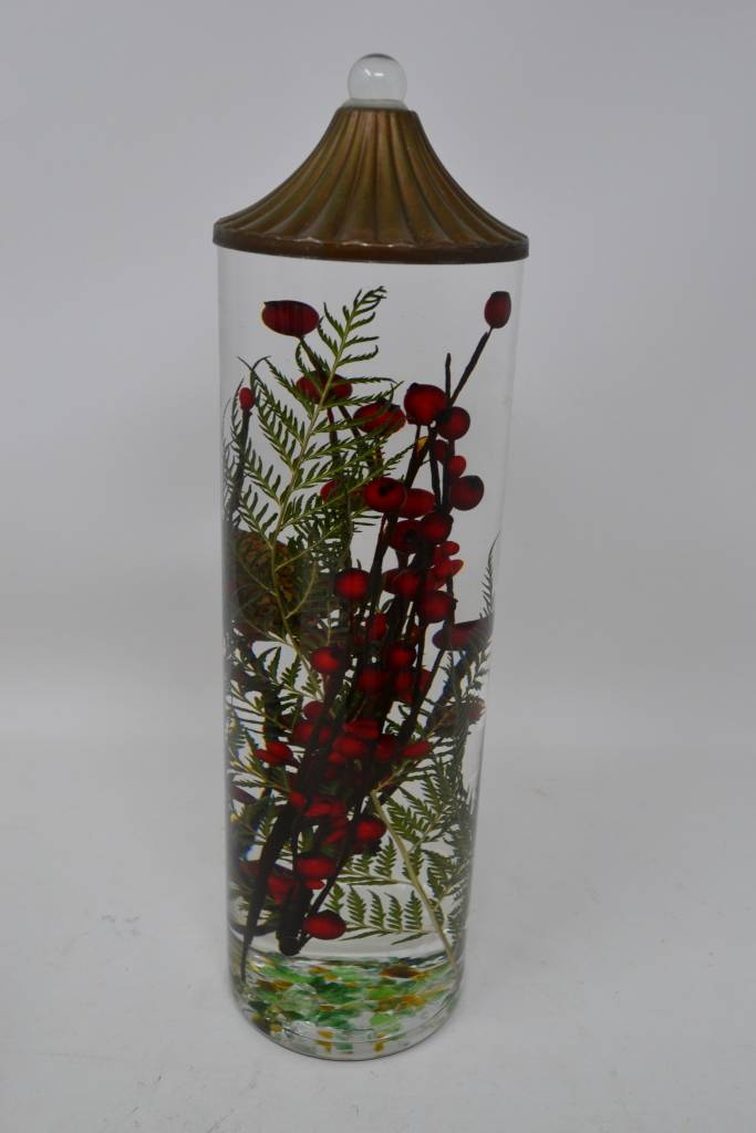 Red Berry Fern Lifetime Candle