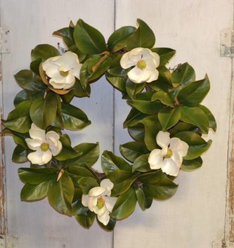 Custom Magnolia Wreath